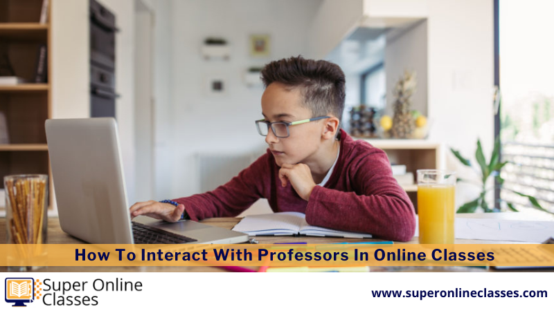Professors In Online Classes