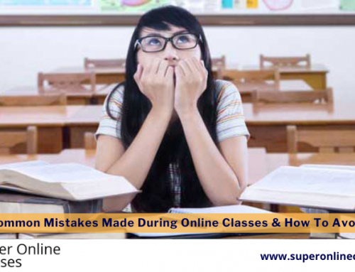 Most Common Mistakes Made During Online Classes & How To Avoid Them