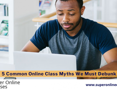 5 Common Online Class Myths We Must Debunk